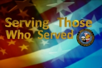 We are proud to Serve Those Who Served Us:
